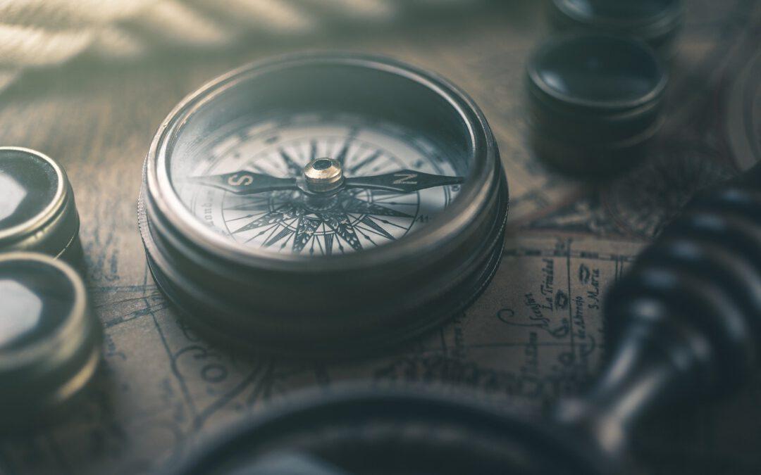 """Schenk uns deine Gedanken zum Thema """"Innerer Kompass""""!"""